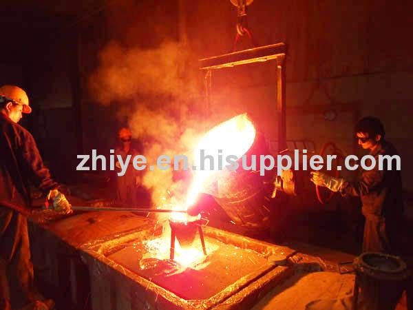 ductile iron casting shape rectangle