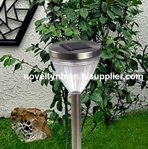 Stainless steel promotion garden solar light001(002)