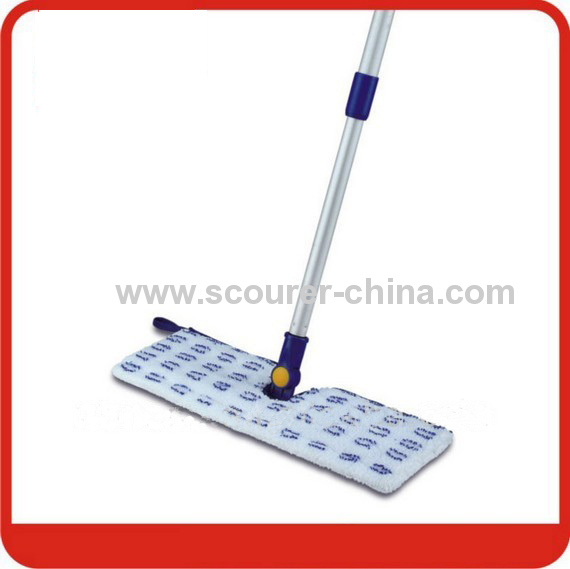 Eco-Friendly 40*10cm Chenille microfiber flip mop with Paper card