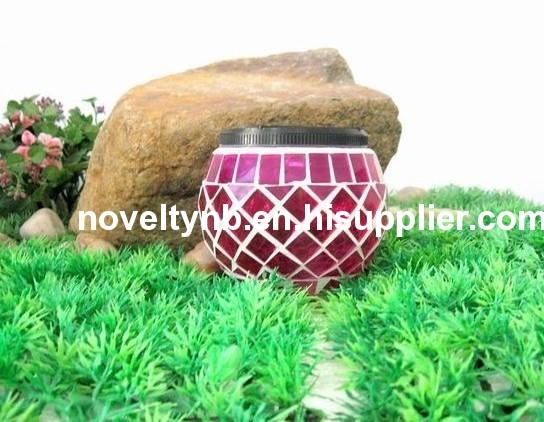 new products of galss ball solar garden light