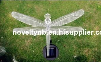 beautiful colour garden solar light dragonfly designs