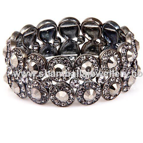 2013 wholesale back to school crystal jewelry wrap bracelets