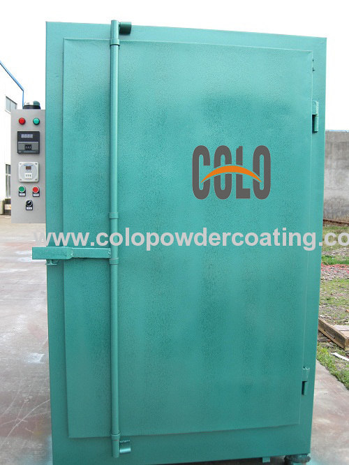 Fast heating powder coating oven plans