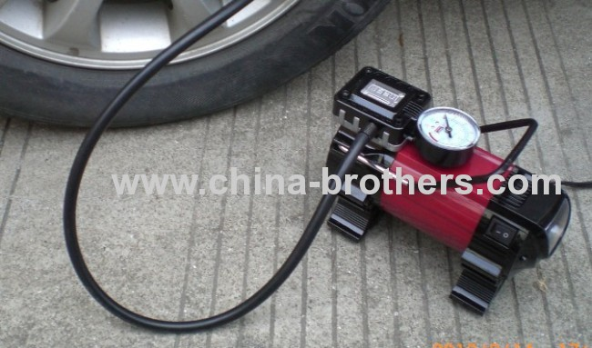 DC 12V Mini Electric Air Compressor Cigarette Pump