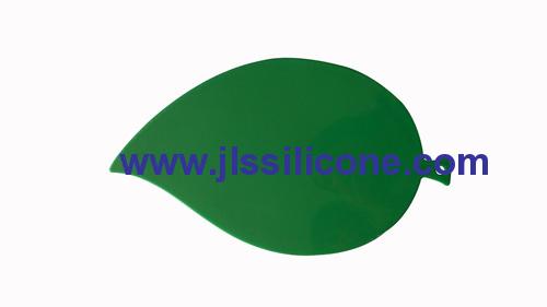 hangable leaf shaped plastic food chopping board and cutting mats