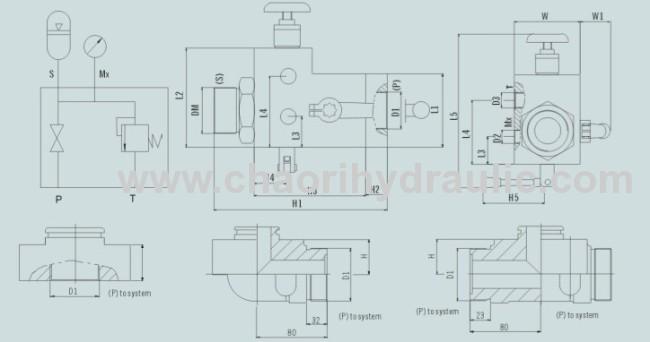 hydraulic safety shut off valve