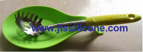 new kitcheware silicone forks and spoon rest