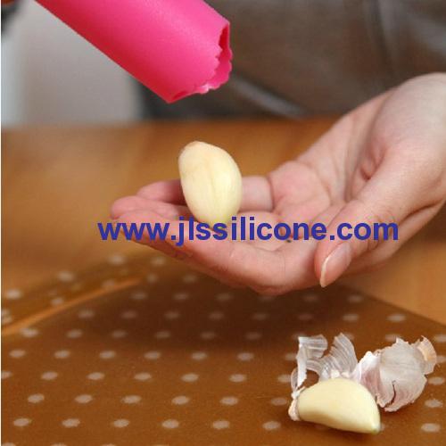 time saved silicone garlic peeler