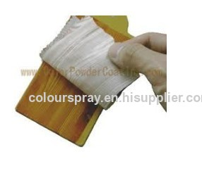 Heat transfer powder coating
