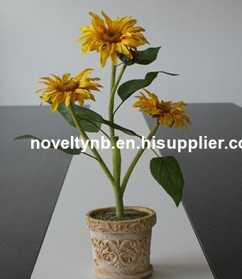 Beautiful sunflower solar lighting