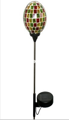 Glass Ball Solar Led Light with Stick