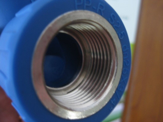 PP-R fittings and pipe Female Elbow 90D
