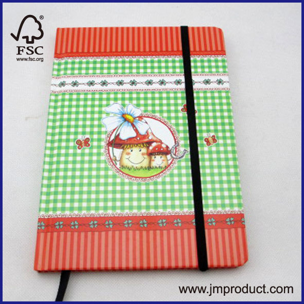 hard cover notebook -making plan