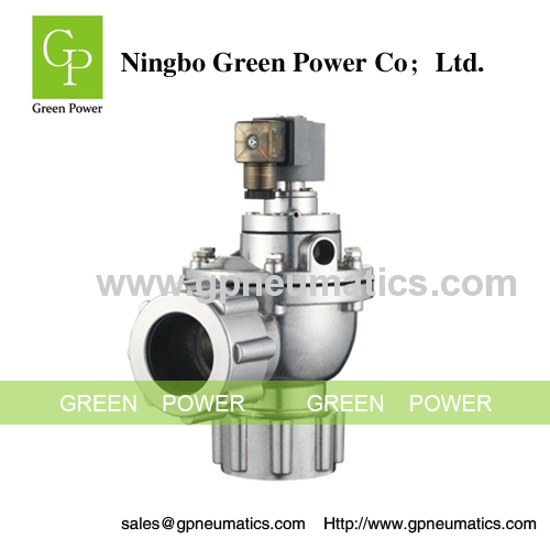 Dual stage compression fitting pulse valve