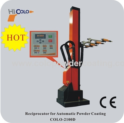 Automatic electrostatic powder coating applicator