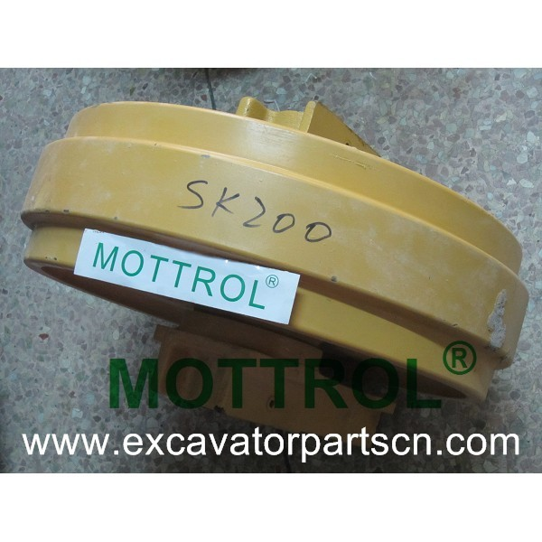 excavator parts front idler SK200