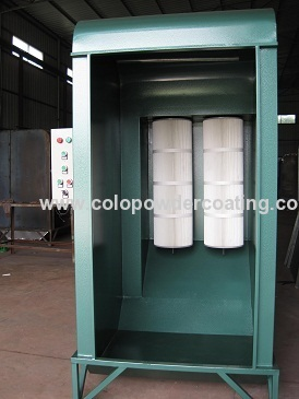 fliter cartridge coating booth