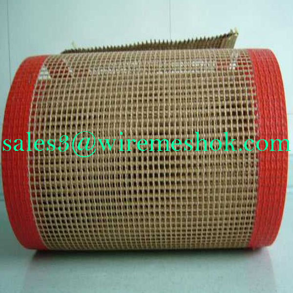 teflon coated fabricMesh Belt