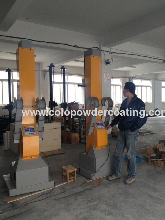 New style automatic reciprocator for powder coating colo-2000D