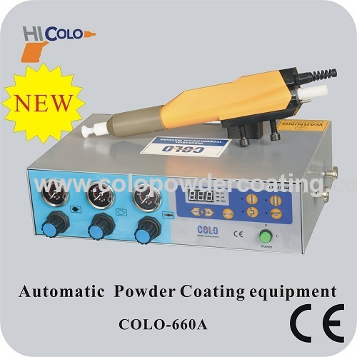 digital function display Reciprocator for automatic Electrostatic Spraying Equipment COLO-2100D