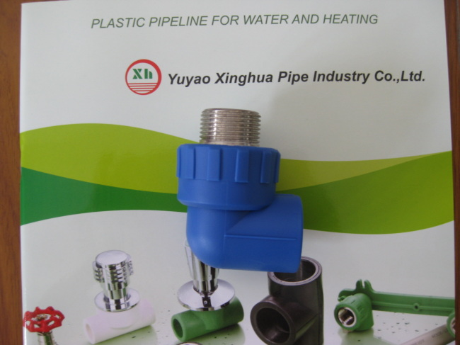 PP-R fittings and pipe Male Elbow 90D from China