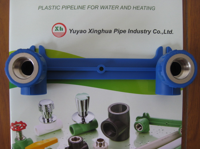 PP-R fittings and pipe Double Female Elbow Group from China