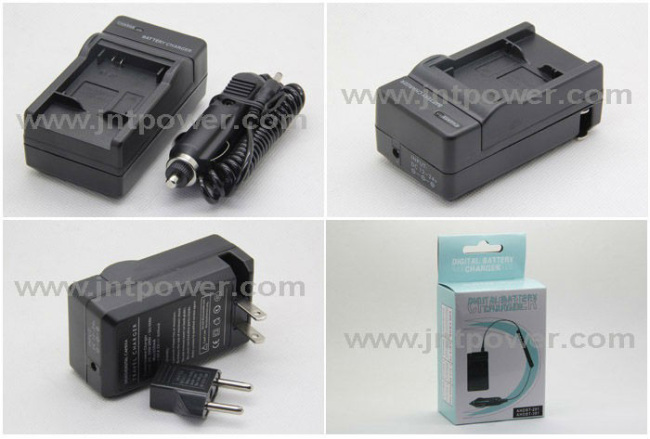 For Gopro digital battery charger AHDBT-201 AHDBT-301 for car use