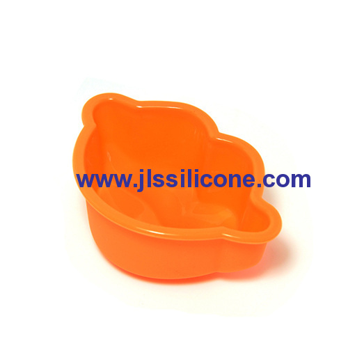 mini monkey style silicone baking pans