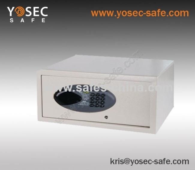 Swipe card hotel safe