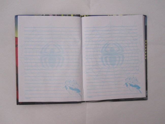 hardbound carton notebook/notepad college ruled