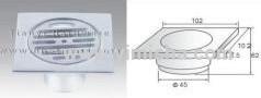 High Grade Aluminium Anti-Odor Floor Drain with Round Cover