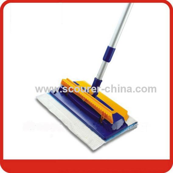 Good helper Telescopic Microfiber Cleaning Click Mop