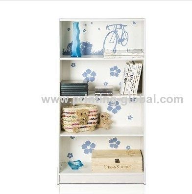 Wood heat transfer film/thermal transfer film for wooden book shelf