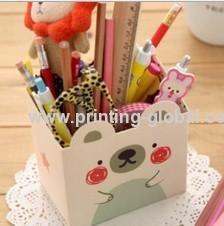 Hot stamping foils for wood/wooden pen holder/pen cabinet