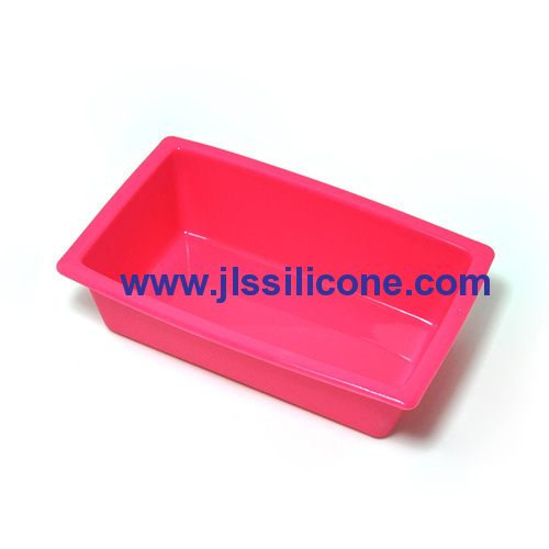 mini rectangle bread loaf silicone baking cake pans