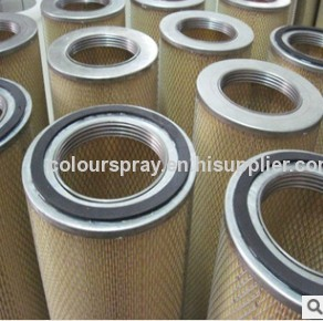 powder spraying equipment recovery filter