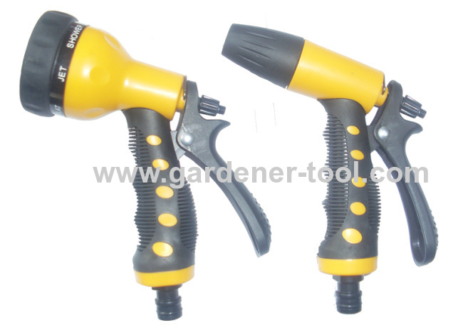 2pcs best plastic garden hose nozzle for garden