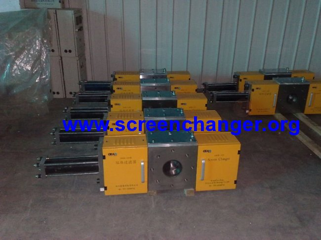continuous hydraulic filter-screen changer