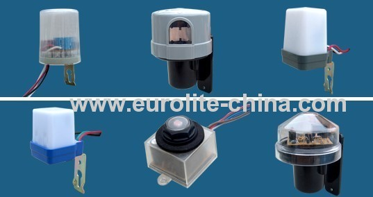 photocell control sensor