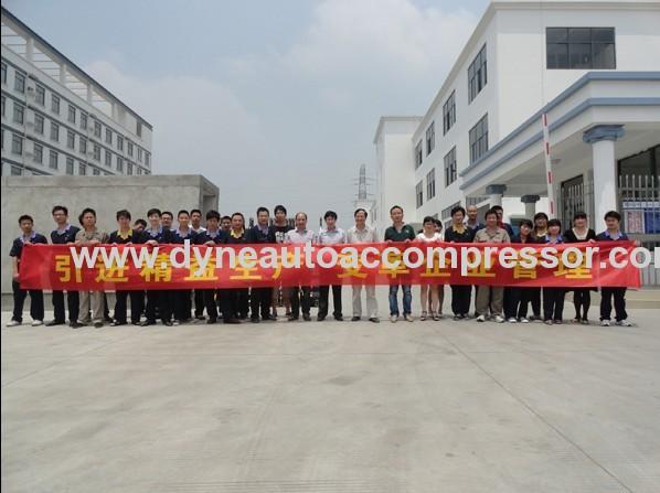 denso 10P08 compressors for BRAZIL GOL/ PAKISTAN SUZUKI PV6 119mm