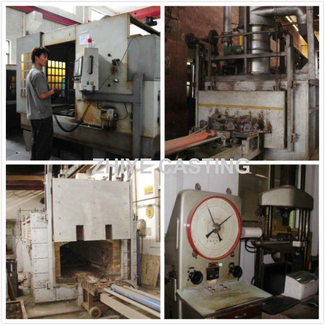 hammer shape ductile iron casting for cake machinery
