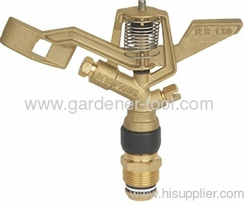 Brass Impact Sprinkler For Vegetable Irrigation