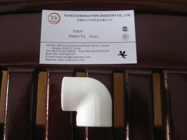 PPR plumbing material PPR Elbow 90D