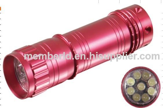 9 Led mini torch 8015