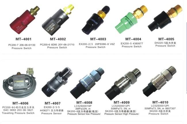 Pressure sensor for SK200-6 LC52S00019P 3MPa32N.m