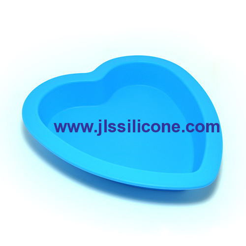 silicone heart pie and pizza baking pan