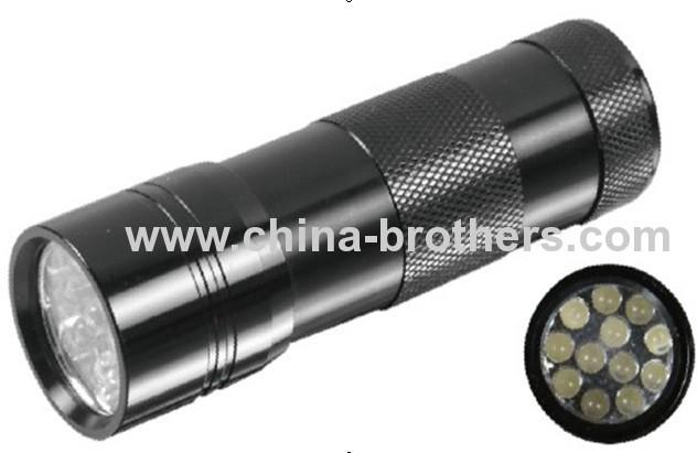 9 Led Aluminum mini torch 8026