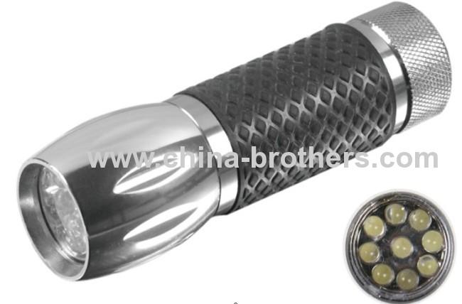 9 Led Aluminum mini torch 8135