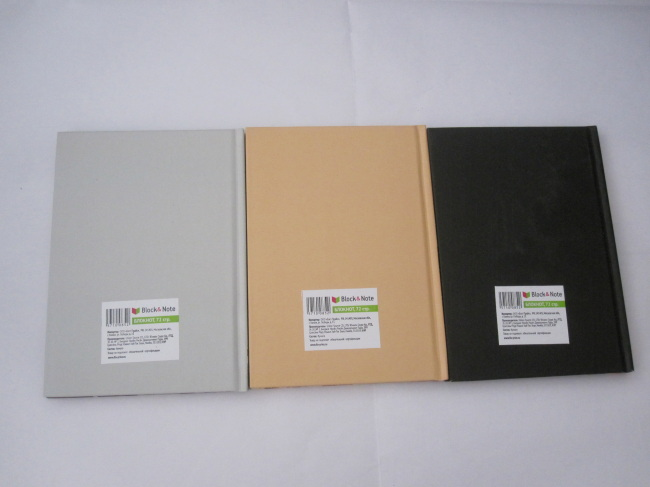 A6 3 subject college ruledhardbound notepad/notebookgood quality