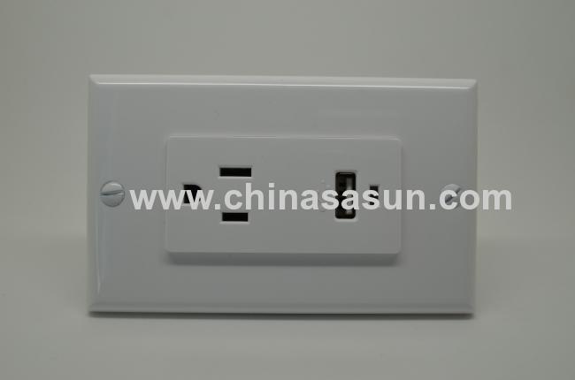 SINGLE USB WALL SOCKET